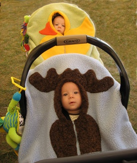Baby Car Seat Belt Cover Pattern