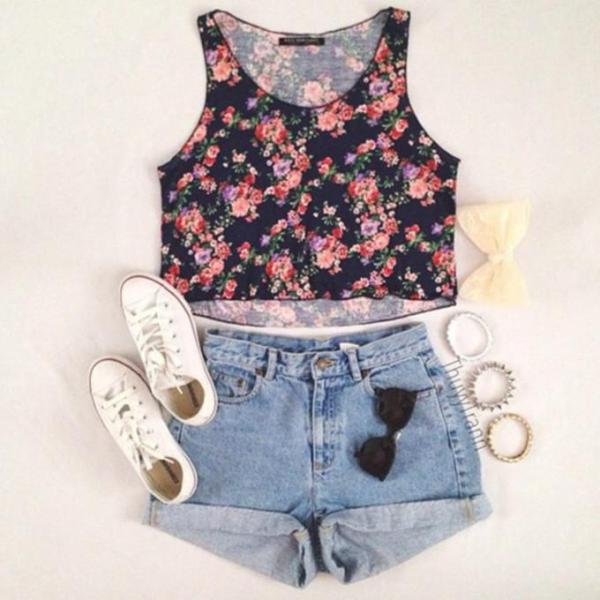 crop top outfits